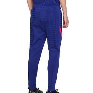 Pantalón Nike Barcelona entreno 2021 Vaporknit Strike - Pantalón largo de entrenamiento Nike FC Barcelona 2021 - azul - trasera