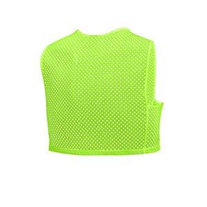 Peto entrenamiento Nike Training - Peto de entreno corto Nike - amarillo flúor - trasera