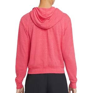Sudadera Nike mujer Vintage Hoodie - Sudadera con capucha de algodón para mujer Nike del FC Barcelona - rosa - trasera