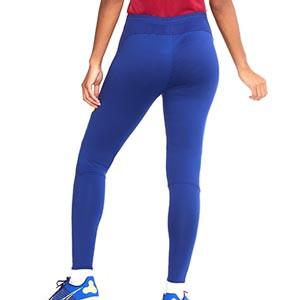Pantalón Nike Barcelona entreno mujer Academy Pro 2020 2021 - Pantalón largo de mujer oficial de entrenamiento FC Barcelona 2020 2021 - azul - hover