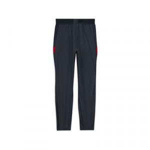Pantalón Nike Liverpool niño entreno 2020 2021 Strike - Pantalón largo de entrenamiento infantil Nike del Liverpool FC 2020 2021 - gris oscuro - trasera