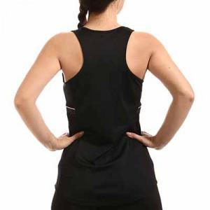 Camiseta tirantes Nike Dri-Fit Academy 21 mujer - Camiseta sin mangas de entrenamiento de fútbol para mujer Nike - negra - hove trasera