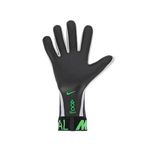 Nike GK Mercurial Touch Elite - Guantes de portero profesionales Nike corte negativo - morados - trasera