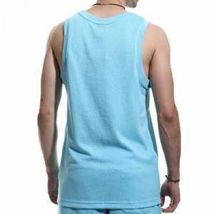 Camiseta tirantes Nike Barcelona Knit Beach Wash - Camiseta de tirantes Nike del FC Barcelona de la colección Beach Wash - azul celeste - hover trasera