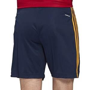 Short adidas España 2019 2020 - Pantalón corto primera equipación selección española 2019 2020 - azul marino - trasera