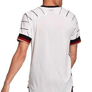 Camiseta adidas Alemania 2020 2021 authentic - Camiseta auténtica primera equipación selección alemana 2020 2021 - blanca - trasera