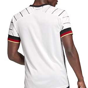 Camiseta adidas Alemania 2020 2021 - Camiseta primera equipación selección alemana 2020 2021 - blanca - trasera