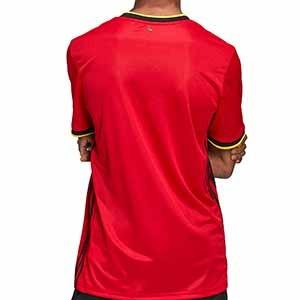 Camiseta adidas Bélgica 2019 2020 - Camiseta primera equipación selección belga 2019 2020 - roja - trasera