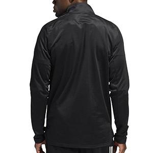Sudadera adidas Condivo 20 Warm - Sudadera de entrenamiento de fútbol para el invierno adidas - negra - trasera