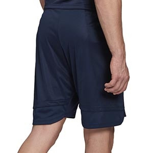 Short adidas Suecia entreno 2019 2020 - Pantalón corto de entrenamiento selección sueca 2019 2020 - azul marino - trasera