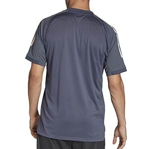 Camiseta adidas Alemania entreno 2020 2021 - Camiseta de manga corta de entrenamiento selección alemana 2020 2021 - gris - trasera