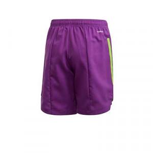 Short adidas Condivo 20 niño - Pantalón corto de entrenamiento de fútbol infantil adidas - lila - trasera