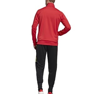 Chándal adidas Bélgica 2019 2020 - Conjunto de chándal adidas de la selección belga 2019 2020 - rojo y negro - trasera