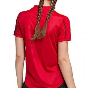 Camiseta adidas España mujer 2020 2021 - Camiseta mujer primera equipación selección española 2020 2021 - roja - trasera