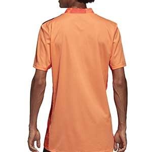 Camiseta adidas España portero 2019 2020 - Camiseta de manga larga de portero selección española 2019 2020 - naranja - trasera