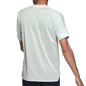Camiseta adidas España entreno 2020 2021 - Camiseta de manga corta de entrenamiento selección española 2020 2021 - verde mente - trasera