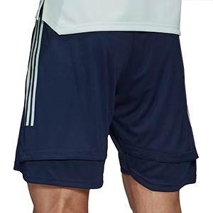 Short adidas España entreno 2020 2021 - Pantalón corto de entrenamiento selección española 2020 2021 - azul marino - trasera
