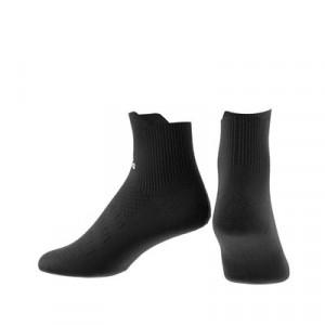 Calcetines adidas Alphaskin semi acolchados - Calcetines tobilleros de entrenamiento adidas - negros - trasera