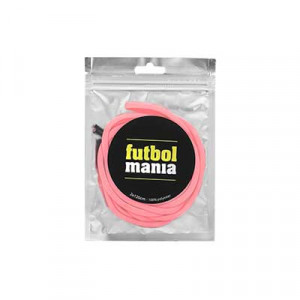 Cordones futbolmania extrafinos 120 cm - Cordones para botas de fútbol extrafinos de futbolmania (120 cm de largo x 5 mm de ancho) - rosas - detalle pack