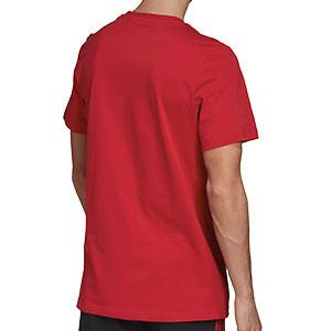 Camiseta algodón adidas United DNA Graphic - Camiseta de algodón de paseo adidas del Manchester United - roja - hover