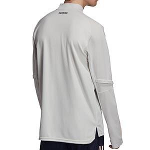 Sudadera adidas Juventus entreno 2020 2021 - Sudadera de entrenamiento de la Juventus 2020 2021 - gris - trasera