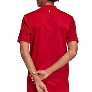 Camiseta adidas España 2020 2021 - Camiseta primera equipación selección española 2020 2021 - roja - trasera