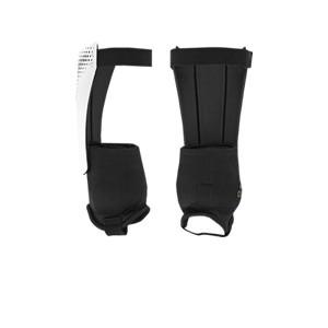 adidas Predator Match - Espinilleras de fútbol adidas con tobillera protectora - blancas y negras - trasera