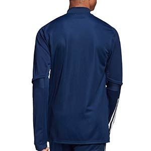 Chaqueta adidas Condivo 20 - Chaqueta de entrenamiento de fútbol adidas - azul marino - trasera