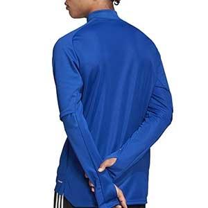 Sudadera adidas Condivo 20 - Sudadera de entrenamiento de fútbol adidas - azul - trasera