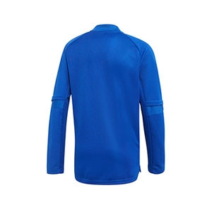Sudadera adidas Condivo 20 niño - Sudadera de entrenamiento de fútbol infantil adidas - azul - trasera
