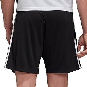 Short adidas entreno Alemania 2019 2020 - Pantalón corto de entrenamiento selección alemana 2019 2020 - negro - trasera
