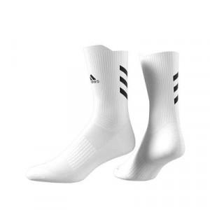 Calcetines media caña adidas Alphaskin Crew Ultralight - Calcetines de entrenamiento adidas media caña - blancos - trasera