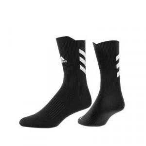 Calcetines media caña adidas Alphaskin - Calcetines de entrenamiento adidas media caña - negros - trasera