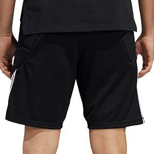 Short portero adidas Tierro GK - Pantalón corto de portero adidas - negro - trasera