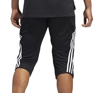 Pantalón portero adidas Tierro GK - Pantalón pirata acolchado de portero adidas - negro - trasera