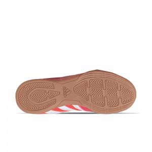 adidas Top Sala J - Zapatillas de fútbol sala infantiles adidas suela lisa - rojas - suela