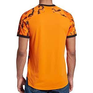 Camiseta adidas 3a Juventus 2020 2021 authentic - Camiseta adidas authentic tercera equipación Juventus 2020 2021 - naranja - trasera