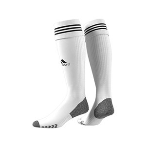 Medias adidas Adisock 21 - Medias de fútbol adidas - blancas - trasera