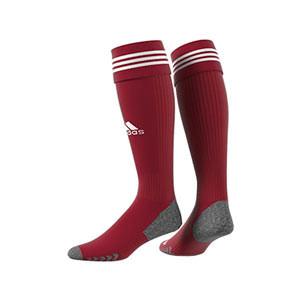 Medias adidas Adisock 21 - Medias de fútbol adidas - rojas - trasera