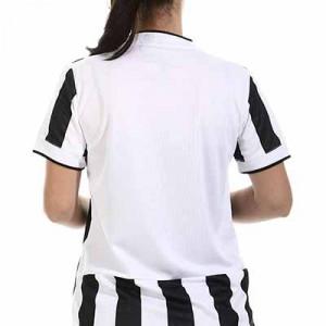 Camiseta adidas Juventus mujer 2021 2022 - Camiseta de mujer adidas primera equipación Juventus 2021 2022 - blanca y negra - hover trasera