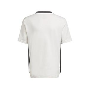 Camiseta adidas Juventus niño entrenamiento - Camiseta infantil entrenamiento adidas Juventus - blanca - trasera