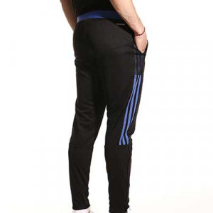 Pantalón adidas Real Madrid entrenamiento - Pantalón largo de entrenamiento adidas del Real Madrid CF - negro - hover trasera