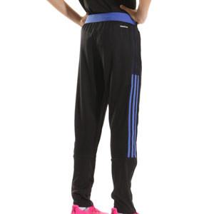 Pantalón adidas Real Madrid entrenamiento niño - Pantalón largo infantil de entrenamiento adidas del Real Madrid CF - negro - trasera