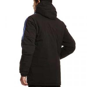 Chaqueta adidas Real Madrid Winter - Abrigo de invierno acolchado adidas del Real Madrid CF - negro - hover trasera