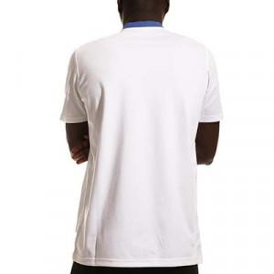 Polo adidas Real Madrid entrenamiento - Polo entrenamiento para entrenadores adidas Real Madrid CF - blanco - hover trasera