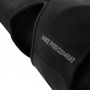 Rodillera Nike Pro Combat 2.0 - Rodillera de neopreno Nike - Negro - detalle parte trasera