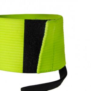 Brazalete de capitán 2.0 - Distintivo capitán equipo Nike - Amarillo flúor - detalle cierre