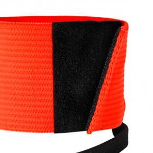 Brazalete de capitán 2.0 - Distintivo capitán equipo Nike - Naranja flúor - detalle cierre
