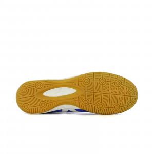 Mizuno Morelia Indoor - Zapatillas de fútbol sala de piel de canguro Mizuno suela lisa - azules - suela