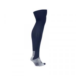 Medias antideslizantes Nike Grip Strike - Medias de fútbol Nike con sistema antideslizante - azul marino - trasera